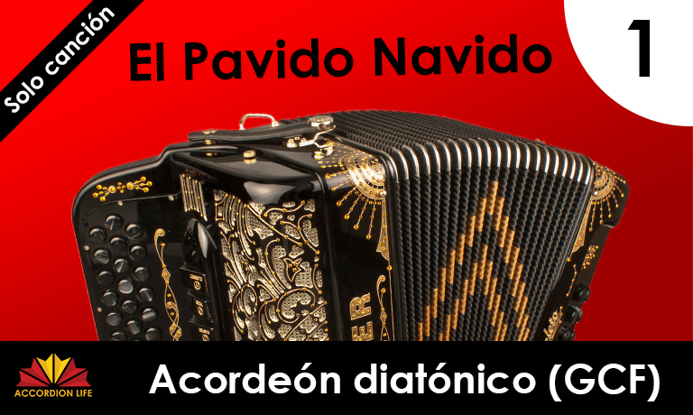 How to Play El Pavido Navido on the Hohner Diatonic Accordion