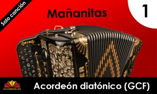 Mañanitas diatonic accordion