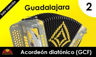 How to Play Guadalajara on the Hohner Diatonic Accordion