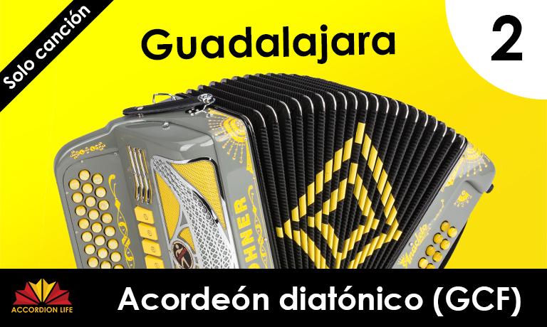 Guadalajara acordeón diatónico