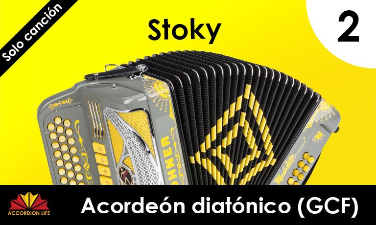 Stoky Diatonic accordion