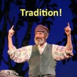 This quote, or phrase, is from the musical/play 'Fiddler on the Roof'. I have tried watc