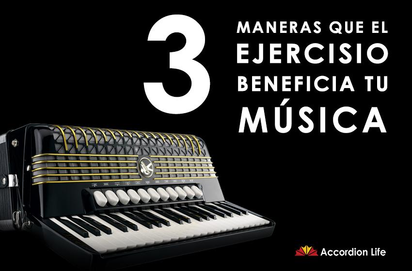 3 maneras que el ejercisio beneficia tu música.