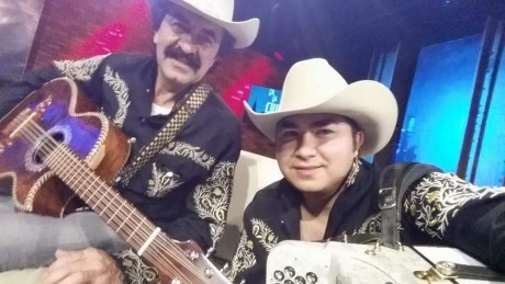 Antonio with his Father, Gustavo Tanguma Solis