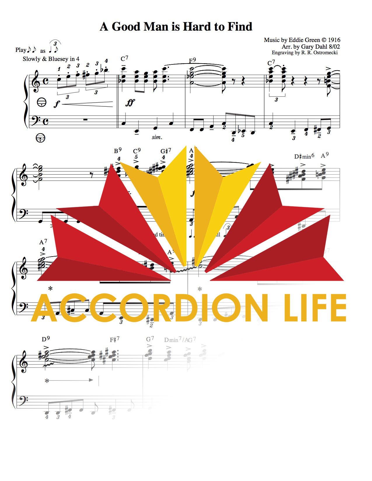 Hard To Find Sheet Music